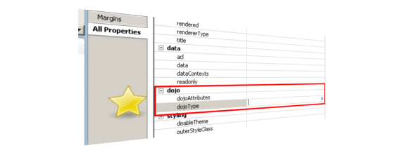 No more div tag hacks in xpages to get your favorite dojo widget notessensei 39 s blog - Div tag properties ...